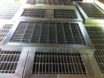 Nắp hố ga thép mạ kẽm nhúng nóng 1